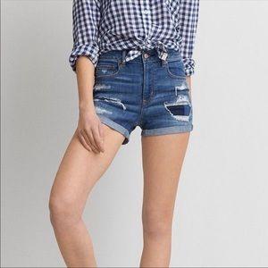 American Eagle Outfitters Hi Rise Denim Shorts